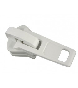 Plastic slider  • White •...