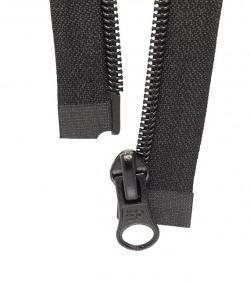 Separable zipper • Black •...