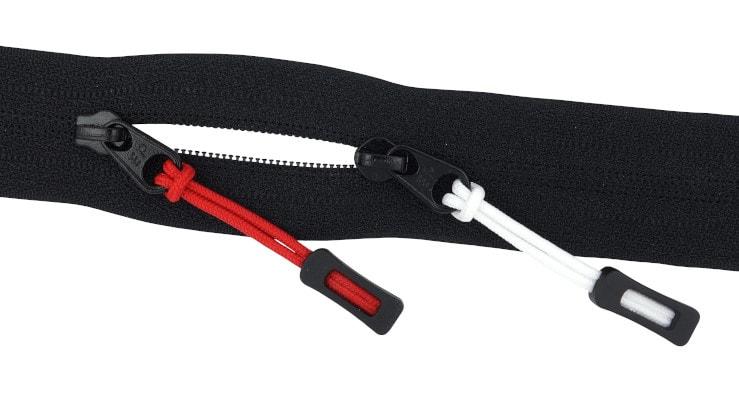 Reißverschluss-Anhänger, Reißverschluss-Zieht, Reißverschluss Tags Kordel, Reißverschluss-laschen